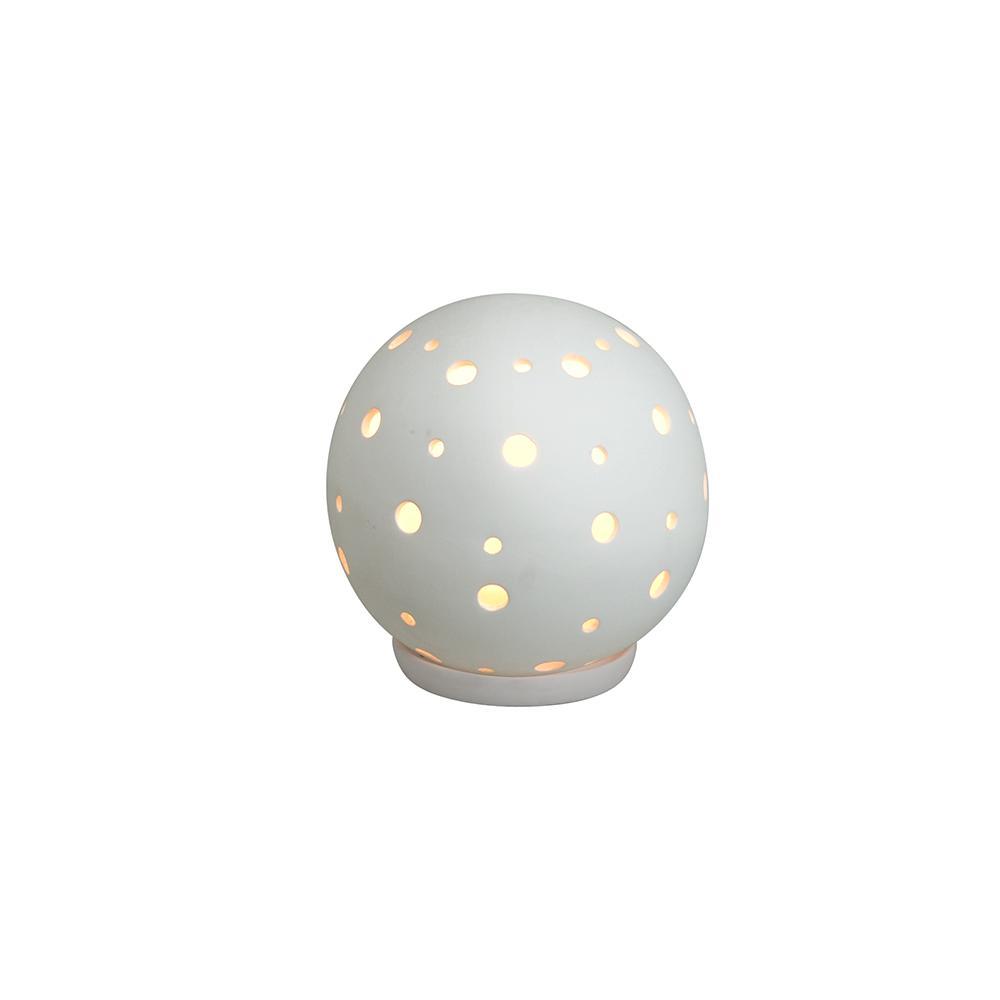 Balizador de Cerâmica Baliball D15 Branco