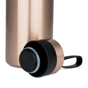 Garrafa Térmica Squeeze em Aço Inox 500 ml Rose Gold Bialetti