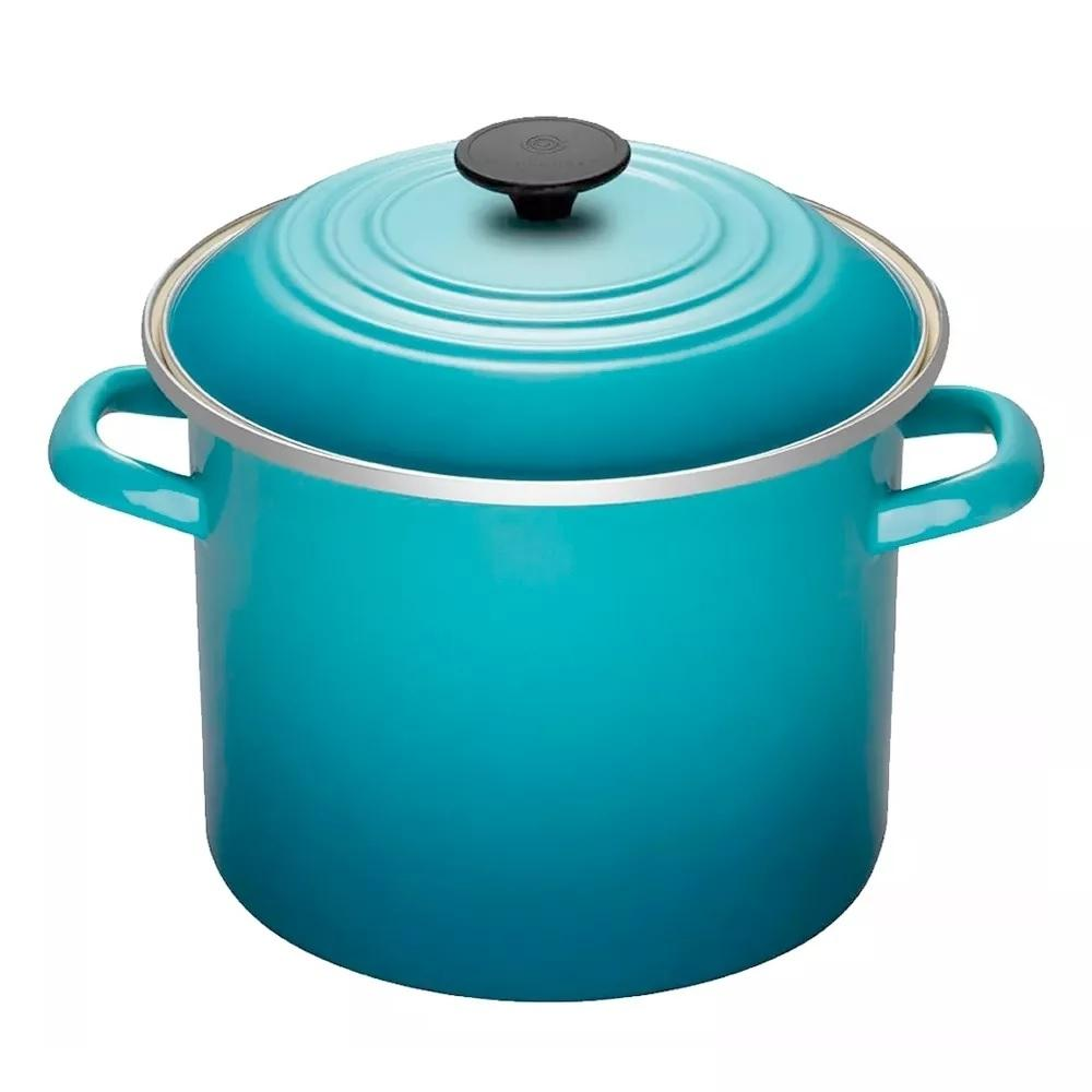 Stock Pot 11,4 Litros 26 cm Azul Caribe Le Creuset