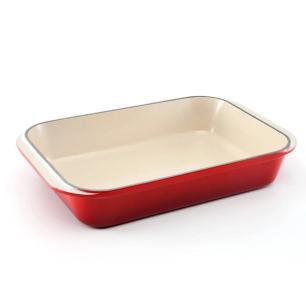 Assadeira Retangular Tradition 30 cm Vermelho Le Creuset
