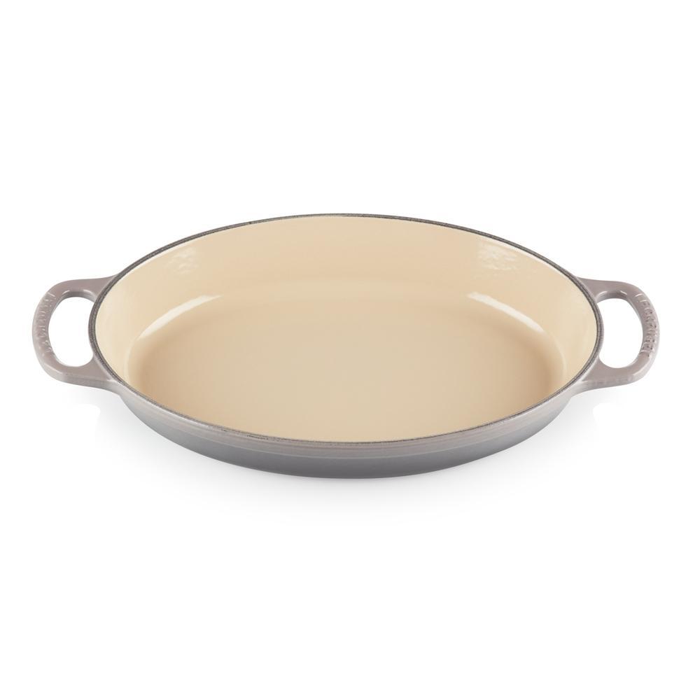 Assadeira Oval em Ferro Fundido 32 cm Flint Le Creuset