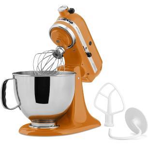 Batedeira Planetária Stand Mixer Artisan 110v Tangerine KitchenAid