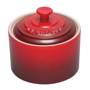 Açucareiro de Cerâmica Vermelho Le Creuset