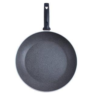 Frigideira Elba Granitium Alumínio Antiaderente 32 cm Cinza Ballarini