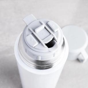Garrafa Térmica 1000 ml Cinza e Branco Zwilling Thermo