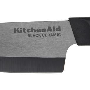 Faca Chef Preta 15,2cm Cerâmica - Kitchenaid