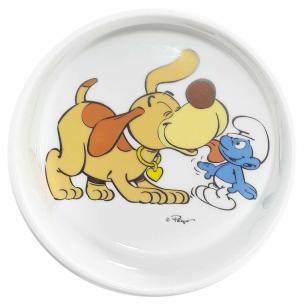 Tigela Pet para Cães Amor Verdadeiro Smurfs