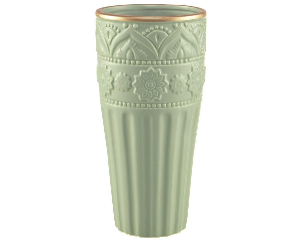 Vaso em Cerâmica Menta