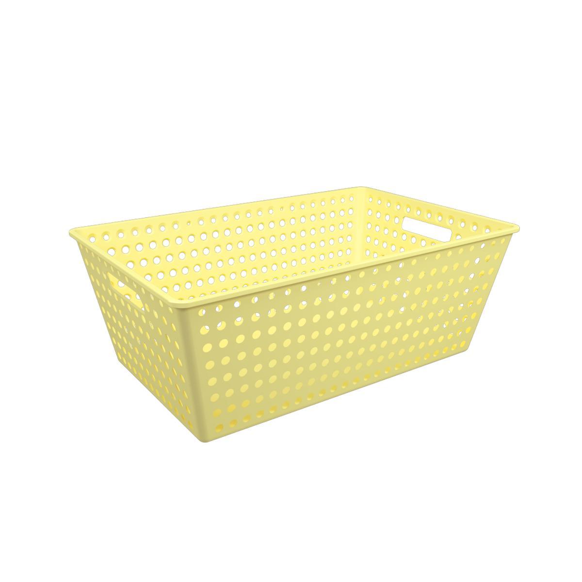 Cestão One Amarelo Soft Coza