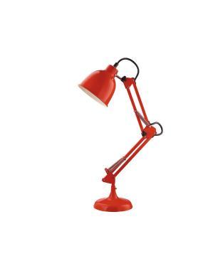 Luminaria de Mesa  Articulada Vermelha