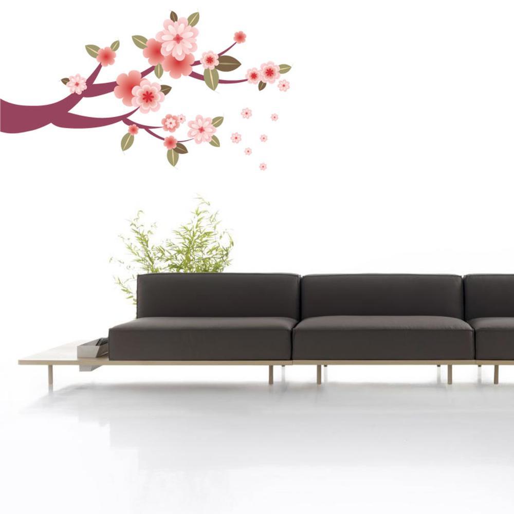 Adesivo Decorativo Floral Real 1,00x0,53m