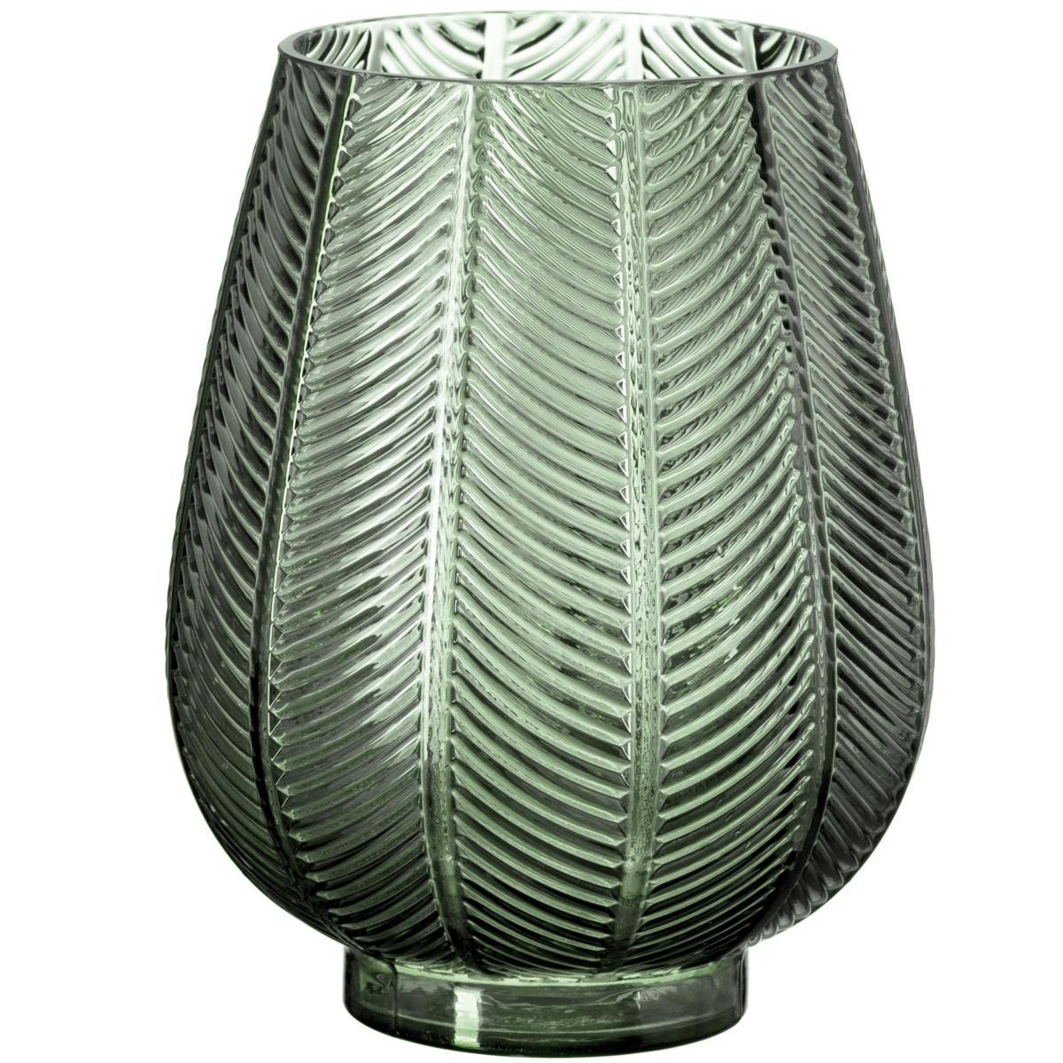 Vaso em Vidro Verde
