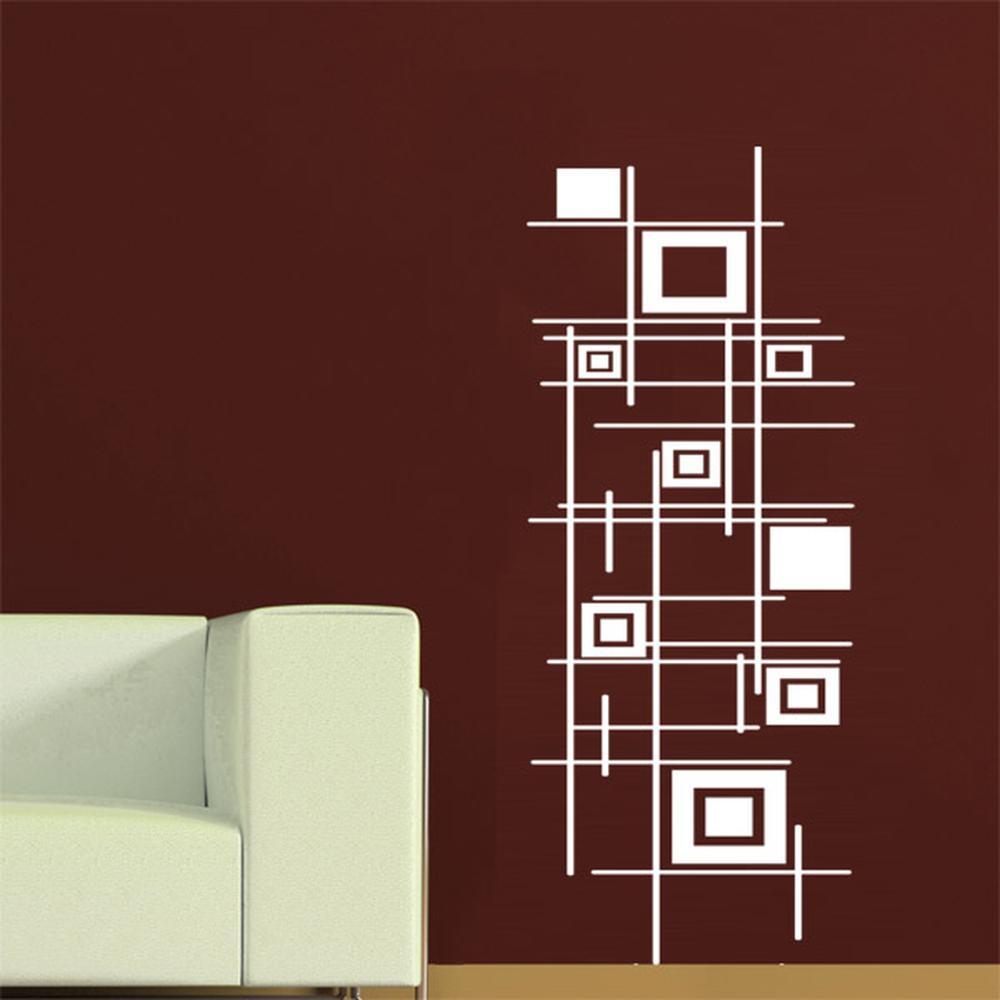 Adesivo Decorativo Abstrato 0,48x1,20m