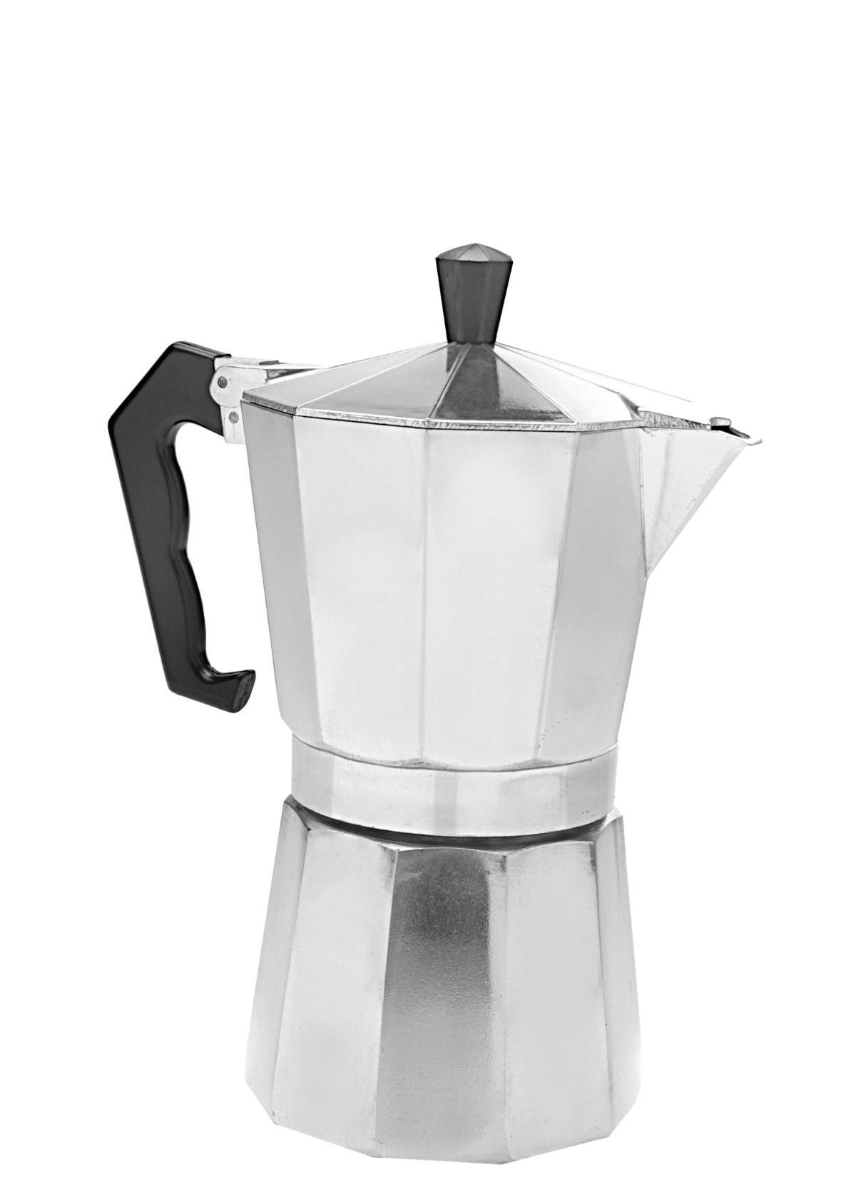 Cafeteira Alumínio Para 3 Cafezinhos