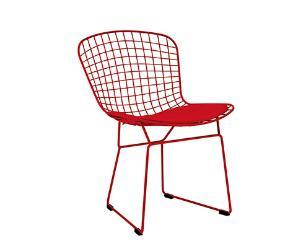 Cadeira em Metal  Vermelha