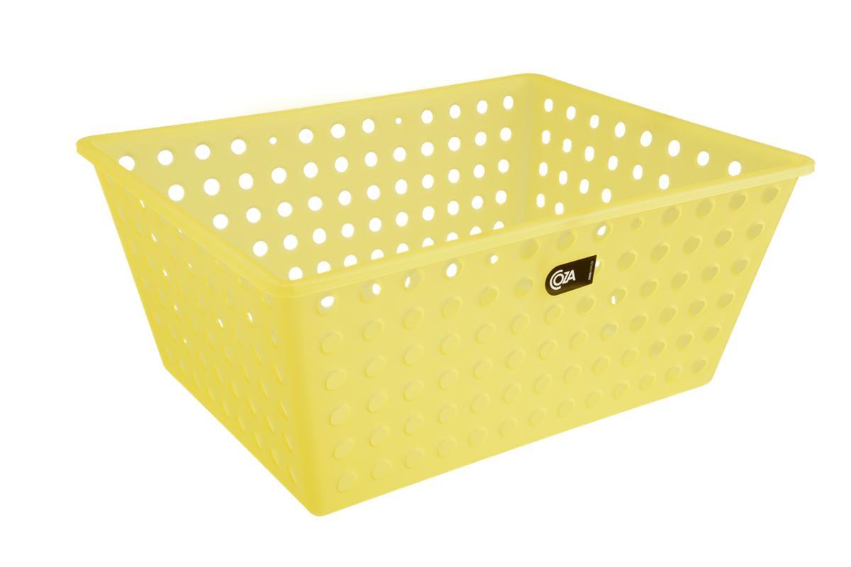 Cesta Maxi Amarelo Coza
