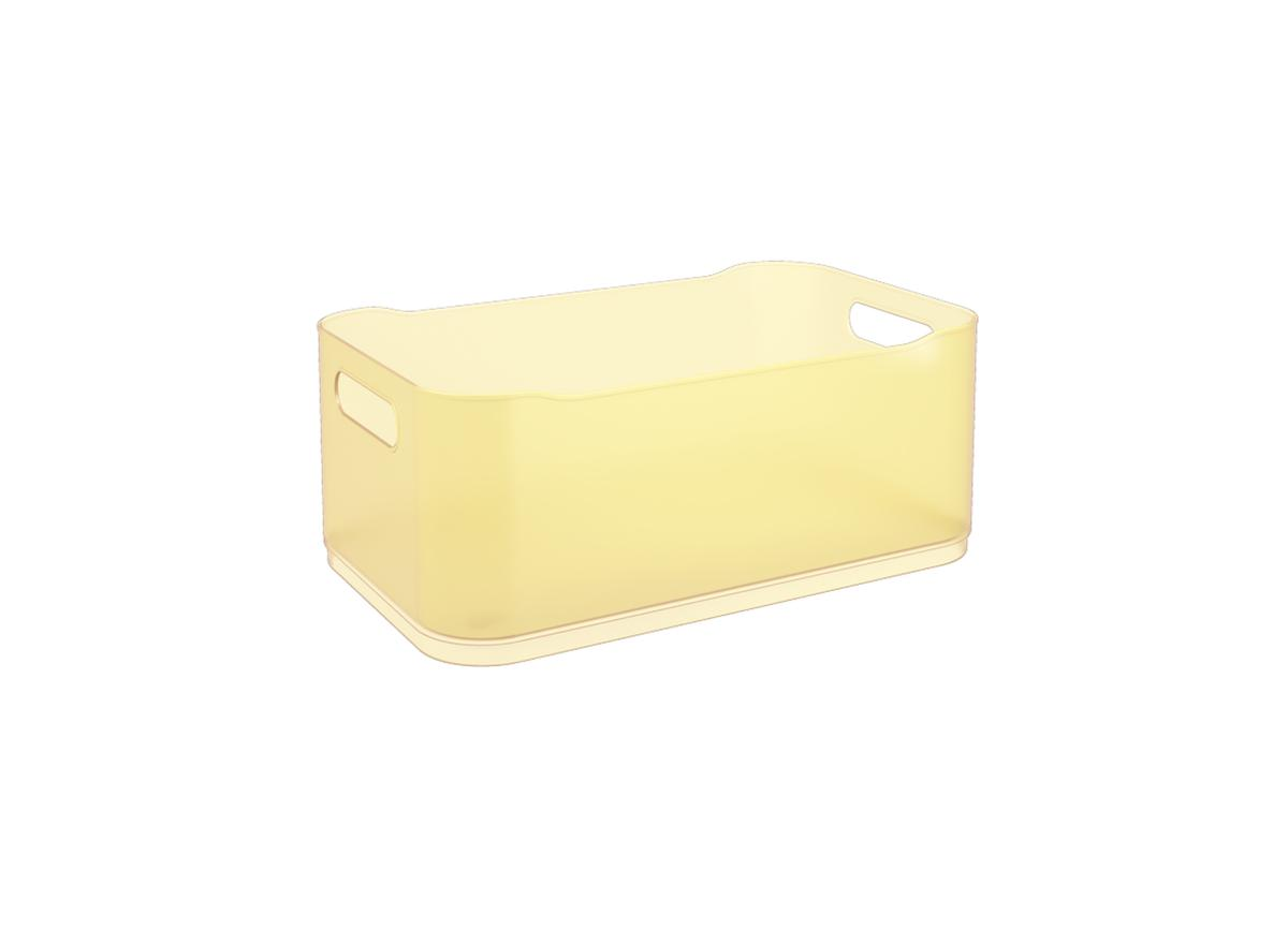 Cesta Fit Grande Amarelo Elétrico