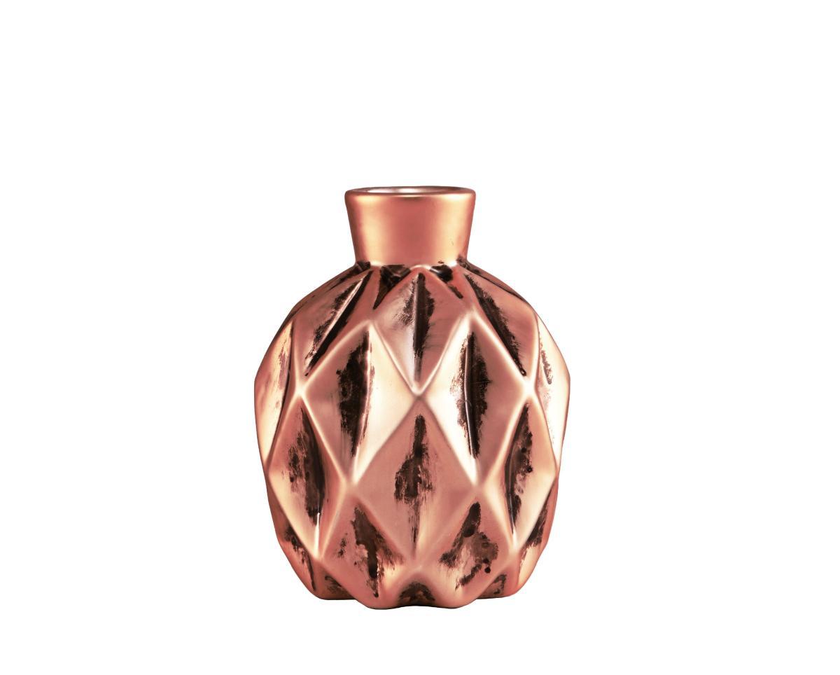 Vaso Cobre De Cerâmica