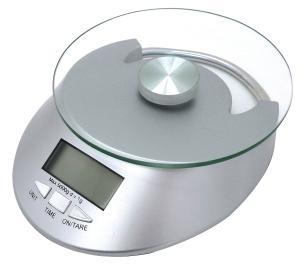 Balanca Digital Vidro Para Cozinha 5 Kg