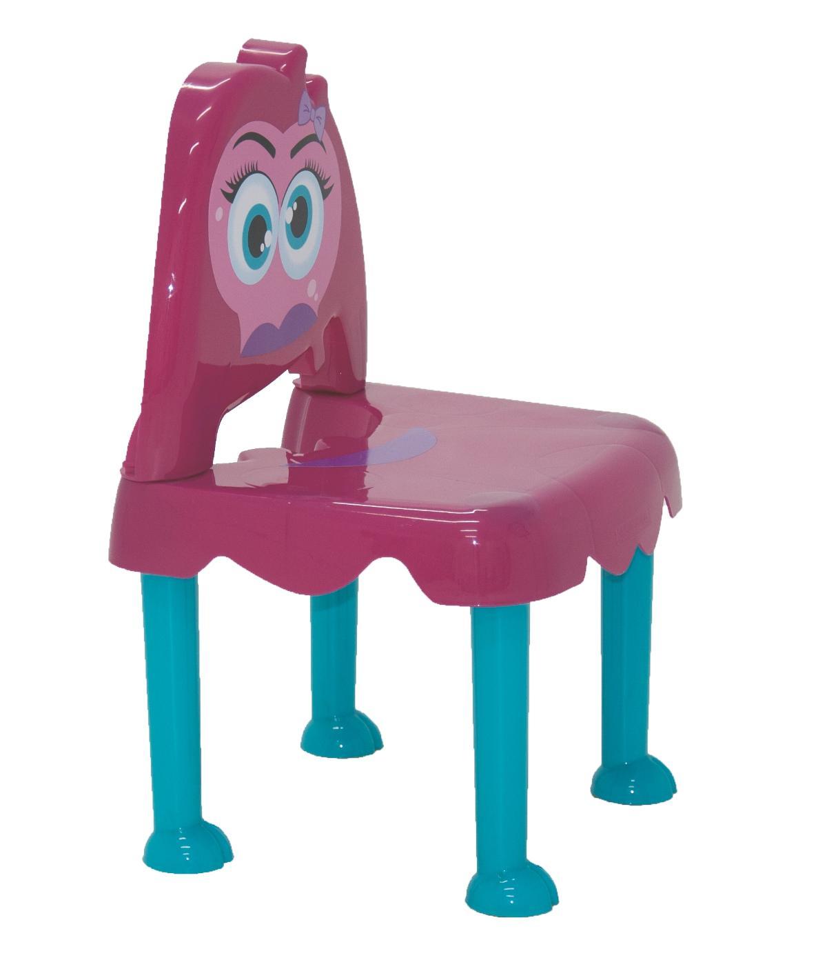 Cadeira Monster Rosa Azul