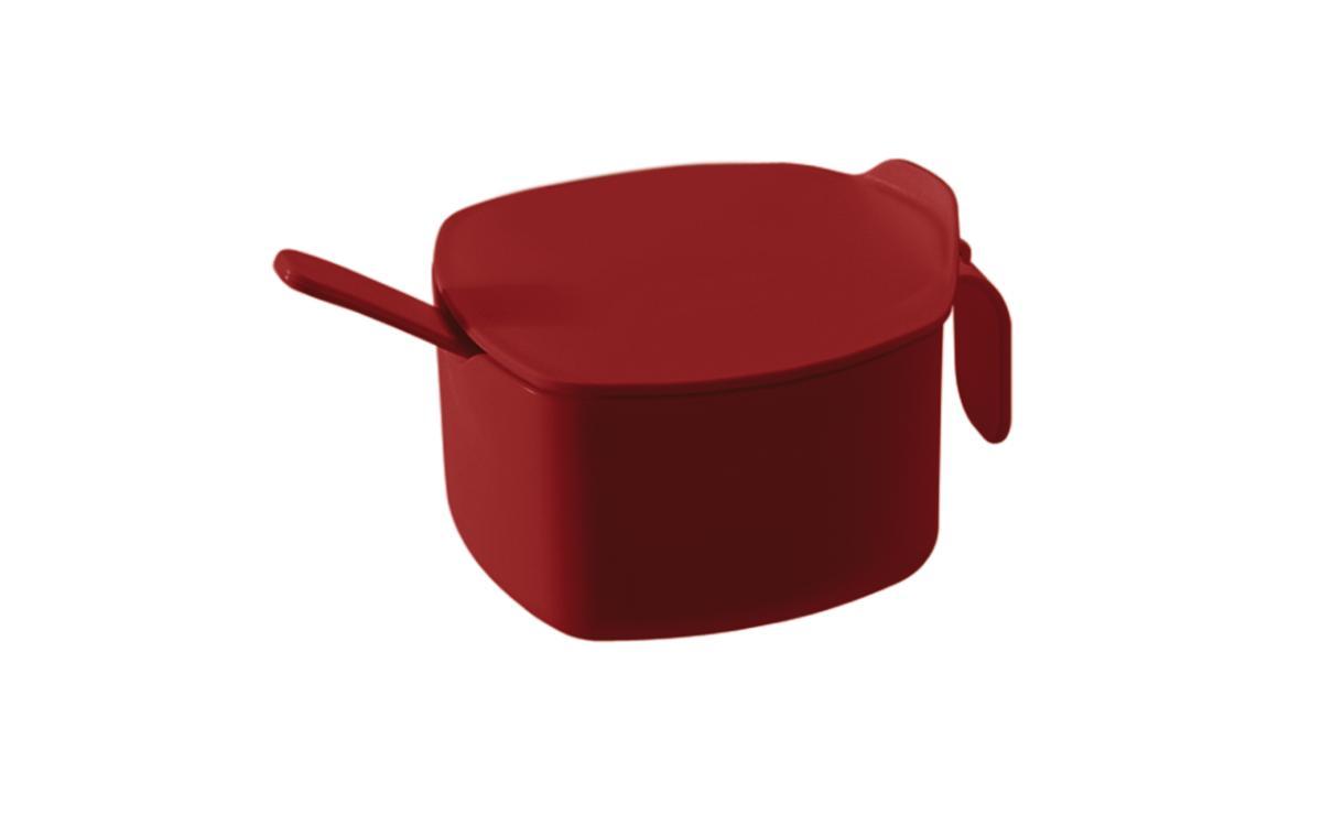 Açucareiro Due 300 ml Casual Vermelho Bold Coza