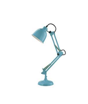 Luminaria de Mesa Articulada Azul
