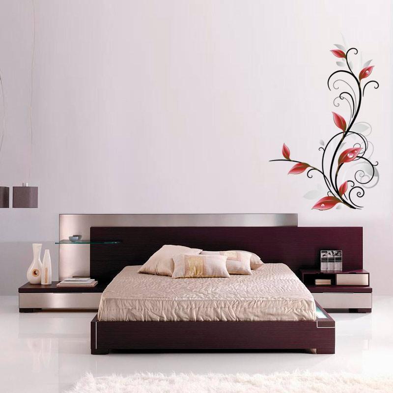 Adesivo Decorativo Floral Real 0,62x1,00m