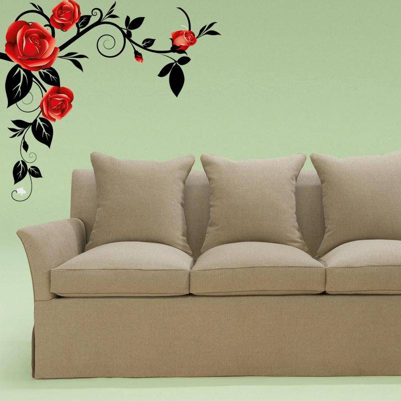 Adesivo Decorativo Floral Real 0,76x0,70m