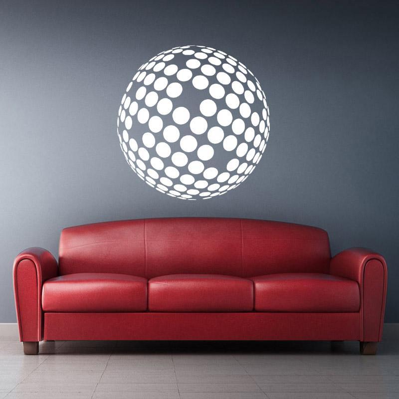 Adesivo Decorativo Abstrato 0,58x0,58m