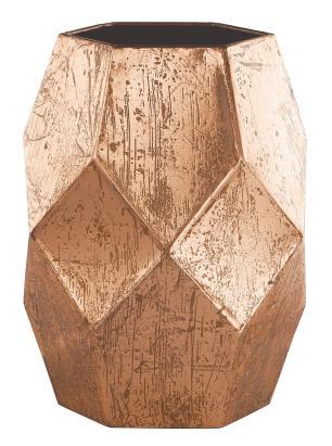 Vaso Em Metal Cobre 17,8 Cm
