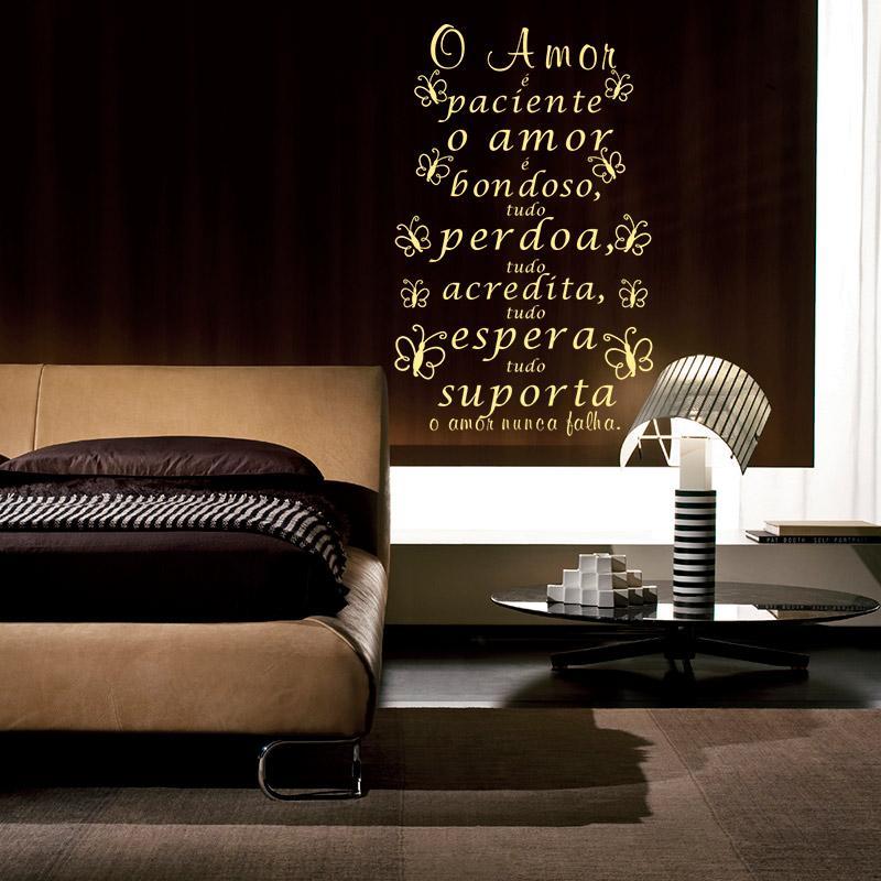 Adesivo Decorativo Frases 0,40x0,76m