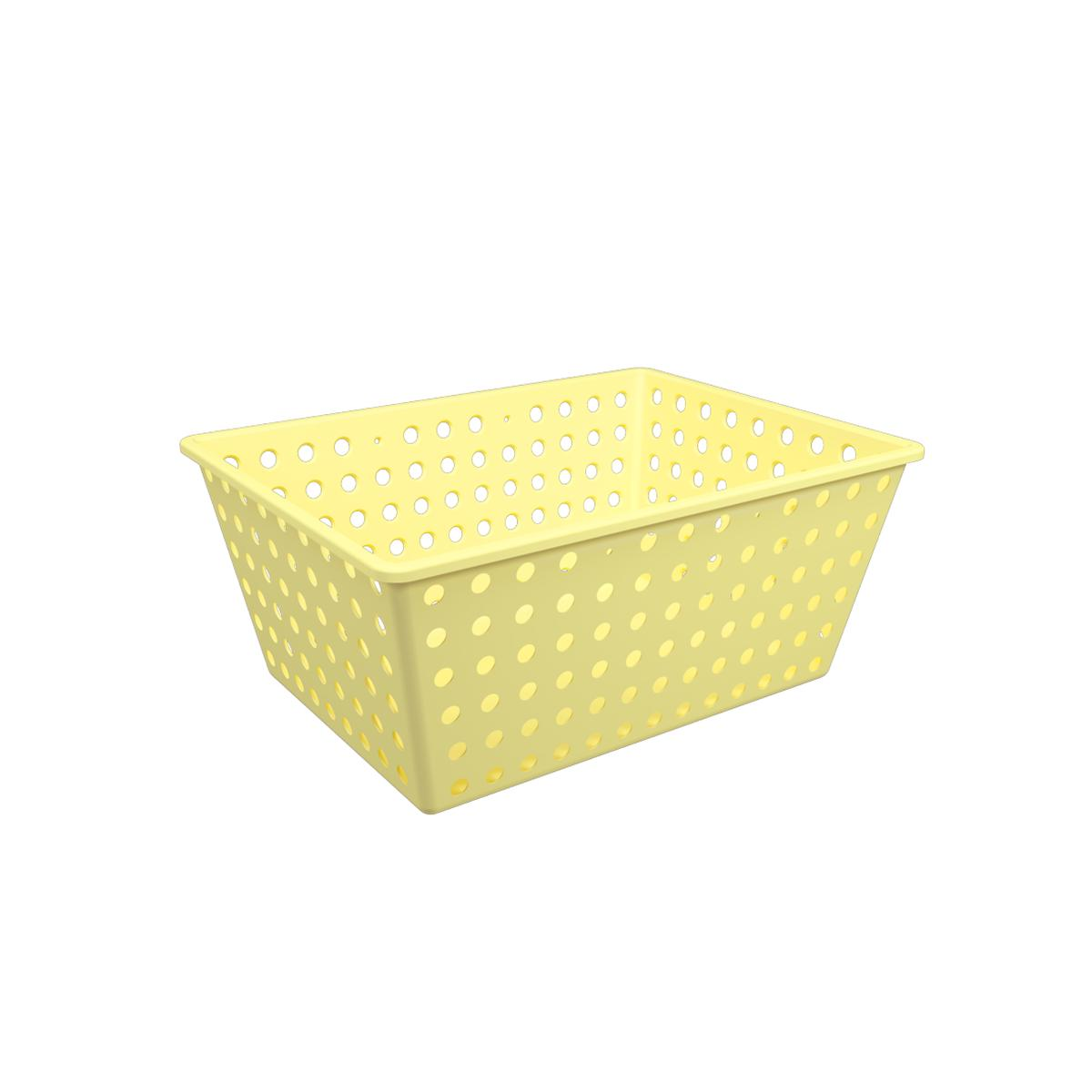 Cesta One Maxi Amarelo Soft Coza