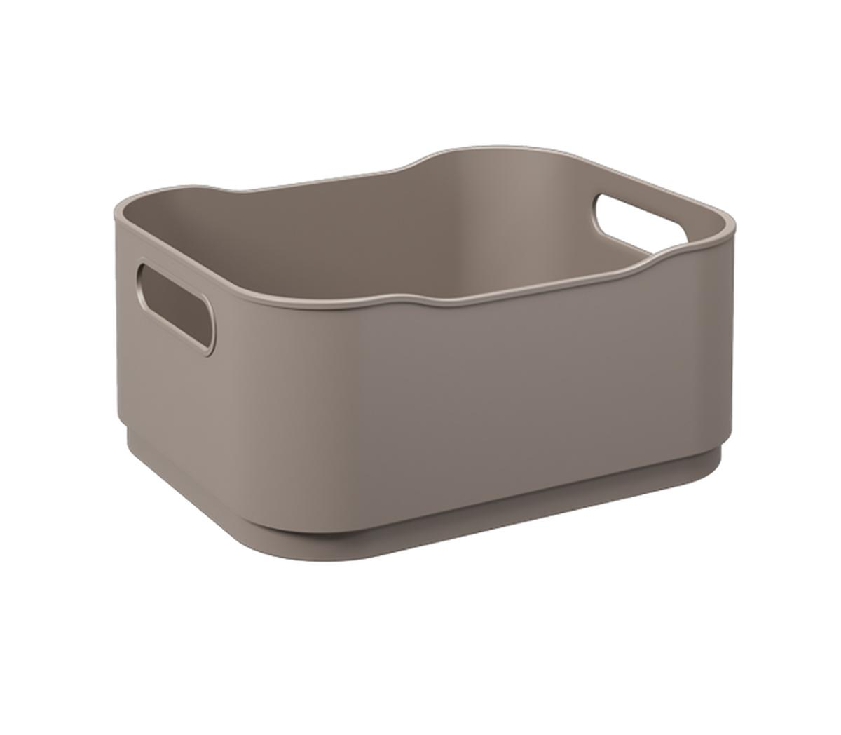Cesta Fit Pequena Warm Gray Coza