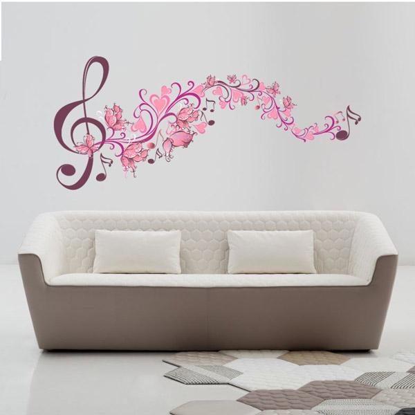 Adesivo Decorativo Musical 0,51x1,18m