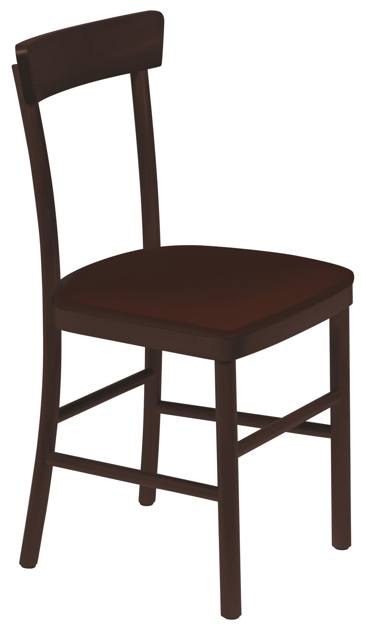 Cadeira Viena Tabaco Estofado Café