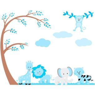 Adesivo Decorativo Infantil Safari SFR-21  1,50x1,18mts