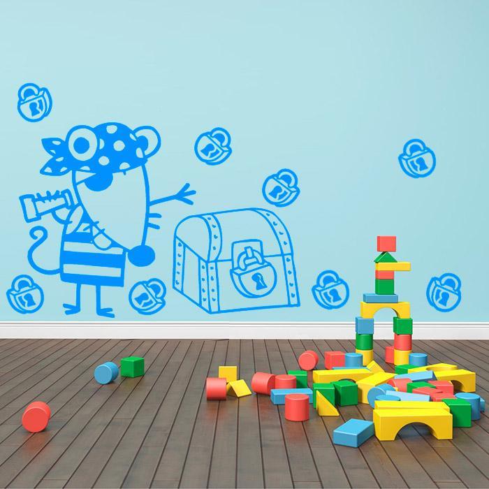 Adesivo Decorativo Infantil 0,48x0,80m