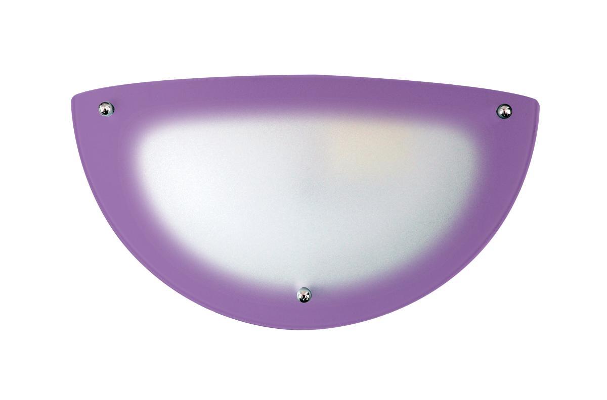 Arandela Redonda 112 Violeta