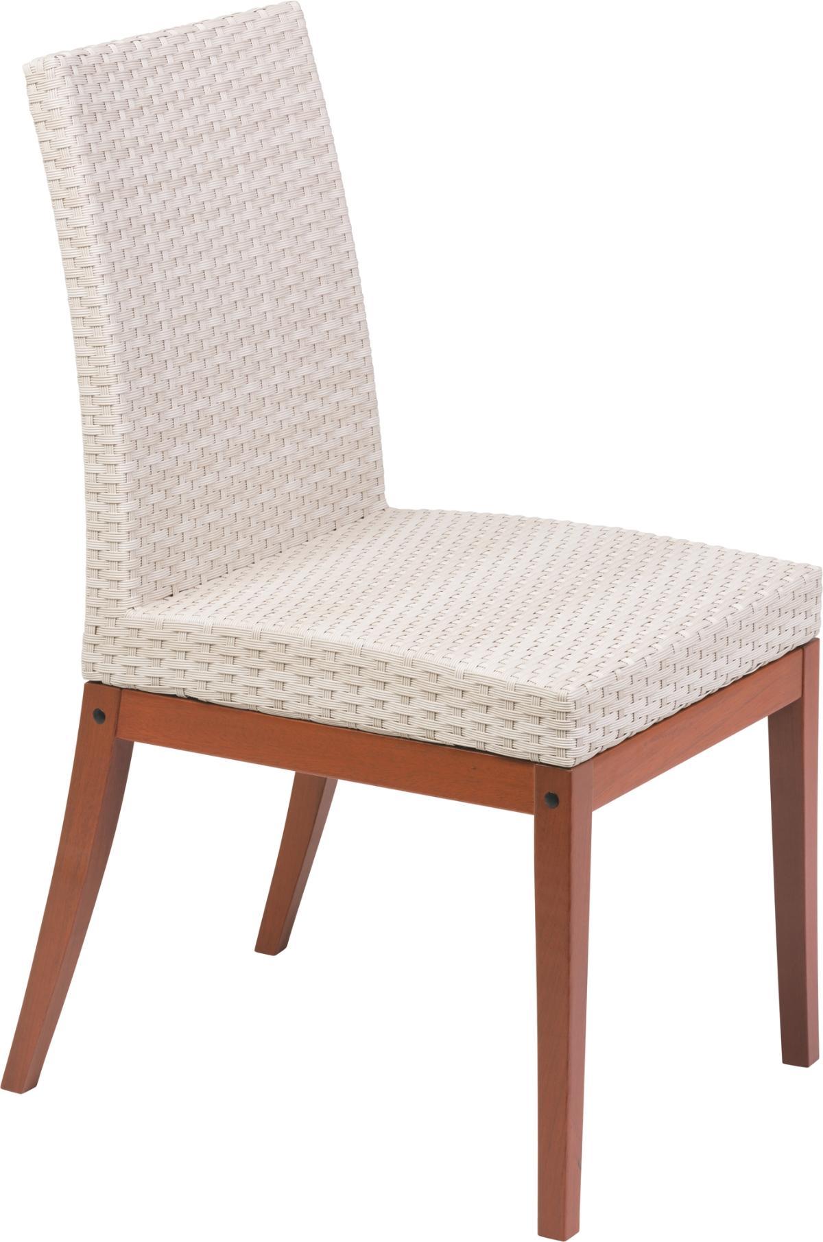 Cadeira Fibra Bege