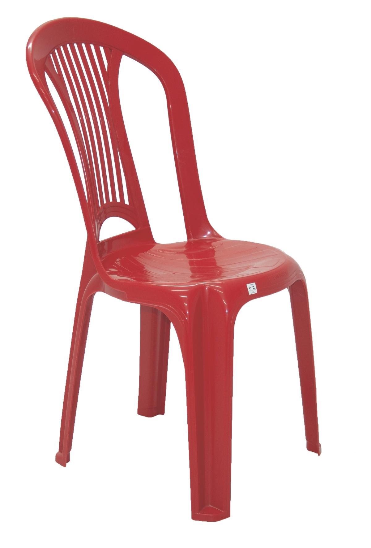 Cadeira Atlantida Economy Vermelho