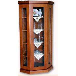 Cristaleira 65 x 65 x 1,80 - Móveis de Gramado