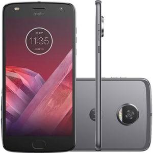 CLIQUE ➤➤ Smartphone Motorola Moto Z2 Play Dual Chip Android 7.1.1 Nougat Tela 5,5″ Octa-Core 2.2 GHz 64GB Câmera 12MP – Platinum   oferta com preço barato em Promoção no site de loja
