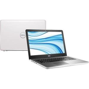 CLIQUE ➤➤ Notebook Dell Inspiron i15-5567-D30B Intel Core 7 i5 8GB (AMD Radeon R7 M445 de 2GB) 1TB Tela LED 15.6″ Linux – Branco   oferta com preço barato em Promoção no site de loja