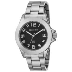 e1efa8dd725 Relógios Masculino Technos Analogico Pulseira Aço Caixa 1