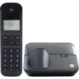 Telefone sem Fio Digital Motorola Moto 3000-mrd2 DECT com identificador de Chamadas