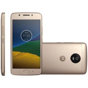 CLIQUE ➤➤ Smartphone Motorola Moto G5, 32GB, Dual, 13MP, 4G, Dourado – XT1672   oferta com preço barato em Promoção no site de loja