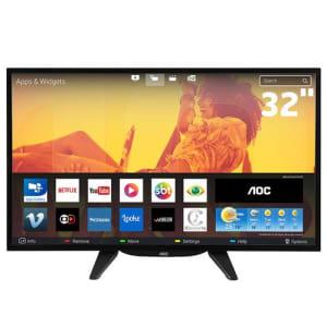CLIQUE ➤➤ Smart TV LED 32″ HD AOC LE32S5760 com Wi-Fi, Miracast, App Gallery, Multi-Sight, Entradas HDMI e USB   oferta com preço barato em Promoção no site de loja