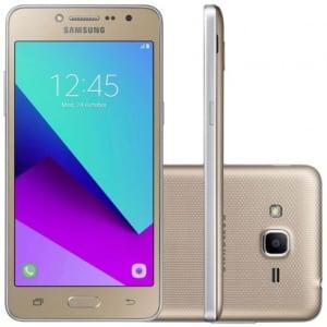 CLIQUE ➤➤ Smartphone Samsung Galaxy J2 Prime TV G532MT Desbloqueado Dourado   oferta com preço barato em Promoção no site de loja