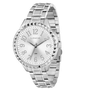 Relógio Feminino Analógico Lince Spike LRM4311L S2SX – Prata 1310fd9021