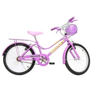Oferta ➤ Bicicleta Infantil Aro 20 Monark Brisa 529820 – Violeta   . Veja essa promoção